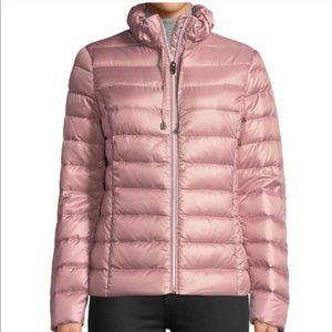 Blush Pink puffer jacket